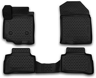 Element EXP.CARSZK00017 Passgenaue Premium Antirutsch Gummi Fußmatten   Suzuki Vitara, SUV   Jahr: 15 20, schwarz