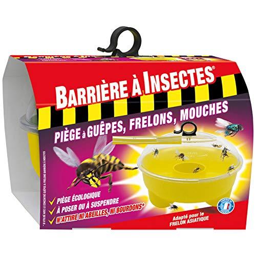 BARRIERE A INSECTES Piège à Guêpes, Jusqu'à 5 semaines, Mouches et Moucherons, 1 piège, BARPIGUEP