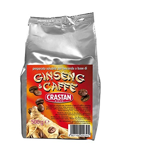 Crastan Ginseng und Kaffee Instant Kaffee Bohnenkaffee 500 gr