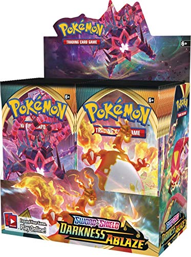 Pokemon Sword and Shield: Darkness Ablaze Booster Box Sold and Shipped Solely by DAN123YAL TOYS+