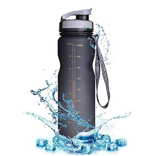 1000ML BPA FREE Bicycle Water Bottle Bike Bottles Filter Portable Kettle LeakProof Cup Sport Cycling Drink Bottle