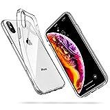 ESR Coque iPhone XS Max, iPhone XS Max Coque Transparente Gel Silicone TPU Souple, Bumper Housse...