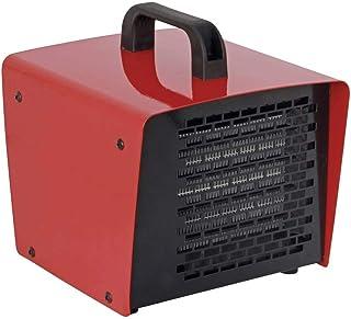 TOOLCRAFT VE89182 - Calefactor de construcción (2000 W), color rojo y negro
