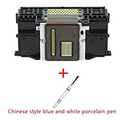 New Store Promotion! Only need $33.99. And add one Chinese style blue and white porcelain pen 1x Compatible Refurbished Canon print head QY6-0082 Compatible With:Canon IP7720 MG5420 MG5520 MG6420 Printer Save up to 70% on a cartridge O.E.M Shipping t...