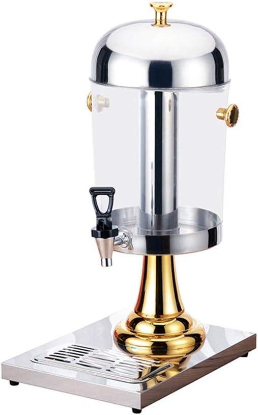 Dispensador de bebidas Dispensador de bebidas de jugo congelado Bebida fría máquina de zumo de naranja dispensador de pulverización de refrigeración comercial maquina expendedora (Tamaño: 8L)