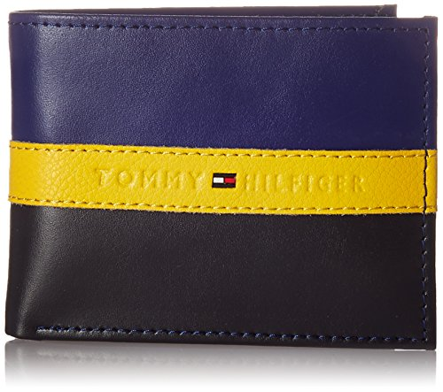 Price comparison product image Tommy Hilfiger Men's RFID Blocking 31TL220053,  Navy / Black,  One Size