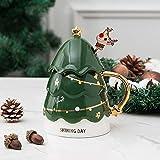 HRDZ Tazza di Ceramica Creativa di Natale Coppia Tazza di caffè Tazza Carina di Alto Valore Regalo di Compleanno Ragazza