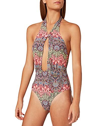 Sylvie Flirty Swimwear Bera, Traje de Baño de Una Pieza para Mujer, Multicolor (Little Print 4300), 38 (Talla del fabricante: 36B)