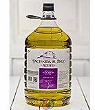3 garrafas pet 5 l - Hacienda el palo - Aceite de oliva virgen extra - extracción en frio