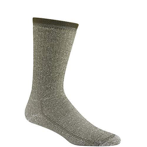 Wigwam Men's Merino Wool Comfort Hiker Crew Length Sock,Charcoal,X-Sock Size:10-13/Shoe Size:...