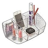 mDesign Organizador de cosméticos para Maquillaje - Organizador de Maquillaje para cosméticos y...