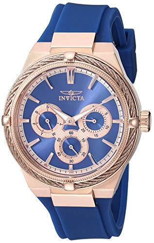 Invicta 28912 - Reloj analógico de Cuarzo para Mujer (Acero Inoxidable,...