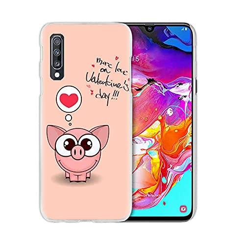Phone cover Funda para Samsung Galaxy A50, A70, A20E, A40, A20, A20, A20, A10, A51, A71, 5G, A9, A7, 2018, transparente