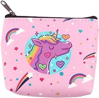 Unicorn Coin Purses Unicorn Mini Change Wallet Small Bag Kids Zipper Purse