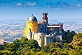 lunaprint Pena National Palace In Sintra Portugal Europe Home Decor Art Wall Poster 63 X 40 cm
