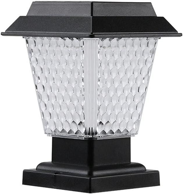 HW.Q Solar Post Max 59% OFF Cap Lights Honeycomb All items free shipping Garden D Wall