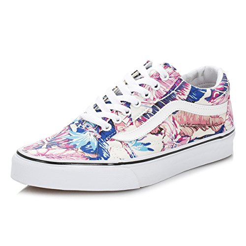 Vans Damen Ua Old Skool Sneaker, Rosa/Multicolore, 35 EU