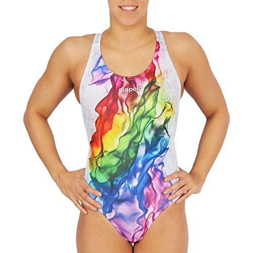 Diapolo Bañador Rainbow Colección para Nadar natación Sincronizada Agua Ball thriathlon