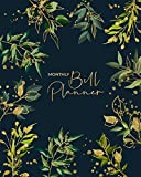 Monthly Bill Planner: Planner Expense Tracker and Bill Organizer - Budget Planning for 1 Year/53 Weeks - Undated Planner - Monthly and Weekly Budget Planner - Journal Notebook