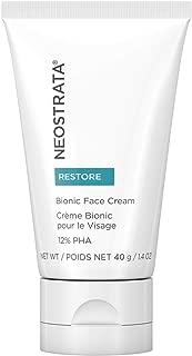 NEOSTRATA RESTORE Bionic Face Cream & Neck Cream for Anti Aging - 12% Polyhydroxy Acid (PHA), Bionic Acid, Glycerin, Sodium Hyaluronite (Hyaluronic Acid Salt)- Sensitive Skin, Fragrance Free 1.4 ounce