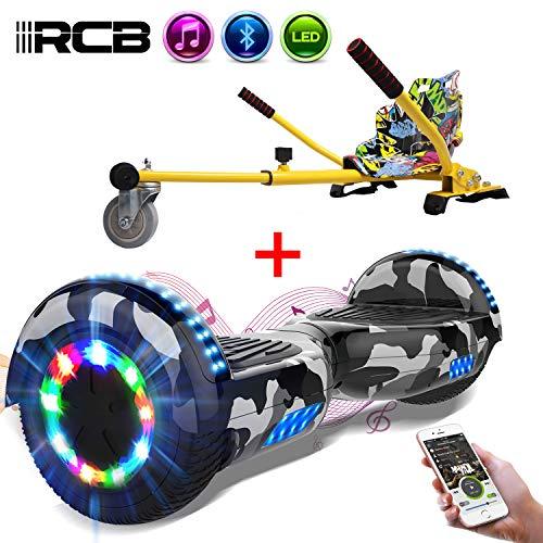 RCB Elettrico Scooter Elettrico con Hoverkart Go-Kart Costruito in luci a...