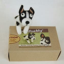Woolbuddy Needle Felting Puppy Dog Kit