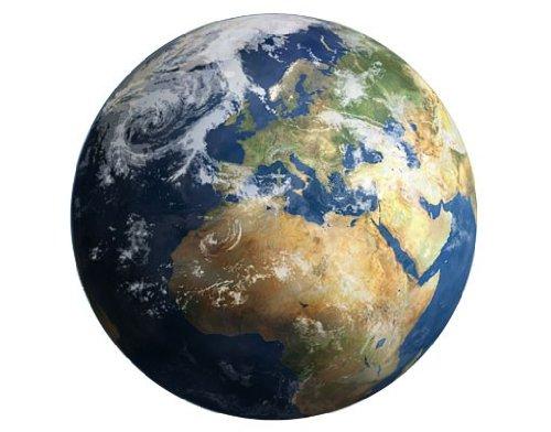 Apalis Wandtattoo No.262 My Earth Erde Weltall Globus Weltkarte Planet