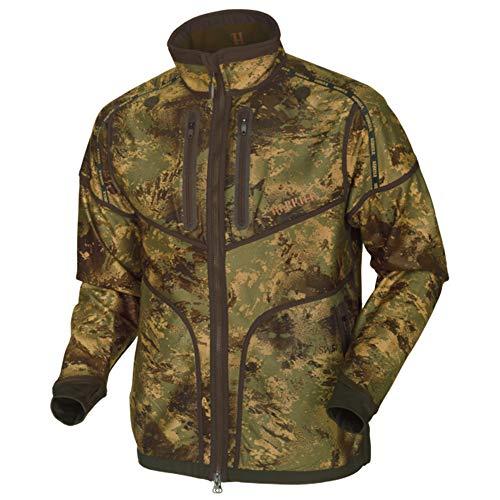 Härkila Lynx Reversible Fleece Jacke Herren AXIS MSP/Forest Green Jagdjacke Wendejacke Camouflage (XL)