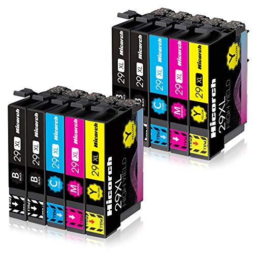 Hicorch 29XL Druckerpatronen Ersatz für Epson 29 XL Kompatible mit Epson Expression Home XP-235 XP-245 XP-247 XP-255 XP-332 XP-335 XP-342 XP-345 XP-352 XP-355 XP-432 XP-442 XP-445 XP-452,10-Pack