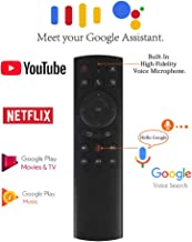 Strqua Air Mouse with 2.4G Wireless Voice Control Sensor, G20s Voice Remote Control for PC Android TV Box.