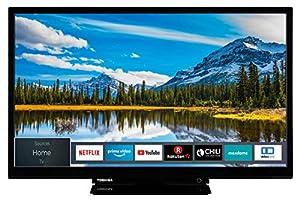 Toshiba 24W2963DAX 24 Zoll Fernseher (HD ready, Smart TV, Triple-Tuner, Prime Video, Works with Alexa, Bluetooth)