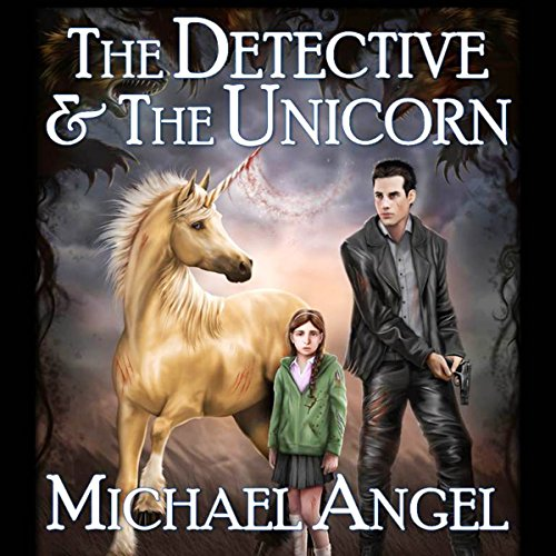 The Detective & The Unicorn audiobook cover art