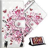 HMTECH LG K50 Hülle,Für LG Q60 / LG K50 Handyhülle Luxus 3D Süßes Cat Blumen Flip Hülle PU Leder Cover Magnet Schutzhülle Tasche Skin Ständer Handytasche für LG Q60 / LG K50,YX Cat Tree