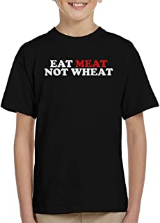 Carnivore Eat Meat Not Wheat Kid's T-Shirt