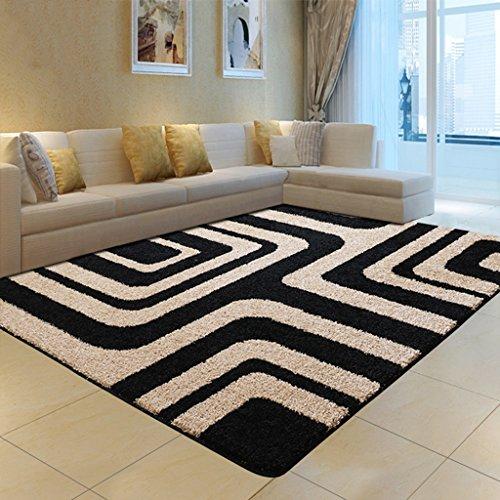 Brilliant firm Teppiche & Matten Teppiche Couchtisch Teppich Wohnzimmer Schlafzimmer Bett Decke Zimmer Dicker großer Teppich (Color : Gray, Size : 120 * 170cm)