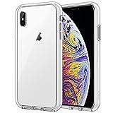 JETech Funda Compatible iPhone XS MAX 6,5', Carcasa Absorción de Impacto (Transparente)