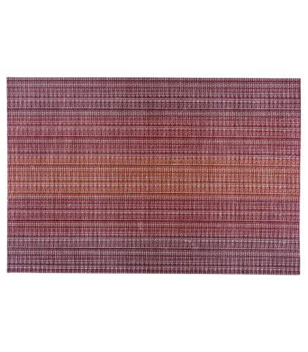 Secret de Gourmet - Set de table sunset rouge 45x30