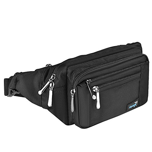 Apark - Bolsa grande cintura 33 43 pulgadas, bolsa