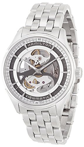 HAMILTON orologio Jazzmaster Viewmatic Skeleton automatico H42555151 Uomo [merci importate regolari]