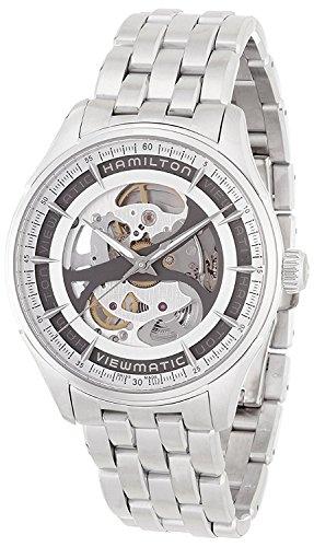 Hamilton Reloj automático de Esqueleto Jazzmaster Viewmatic H42555151
