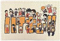 Tuanzi 1000 ピース ハイキュー!!1 木製ジグソーパズルパズルゲーインタラクティブゲ子供と大人のためのゲームー手作り人気の装飾品お誕生日プレゼントト祝い 新年 ギフト