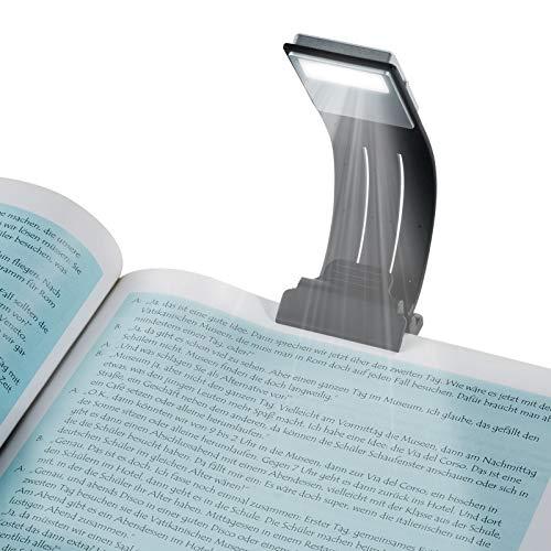 BLOOMWIN LED Lampe de Lecture avec Clips USB Rechargeable 4...