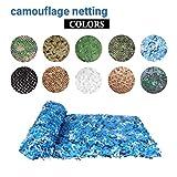Ozean Camo Netting Jagd Sun Shelter Schießen Tarnnetz Sonnenschutz Nets Car-Cover-Party-Dekoration...