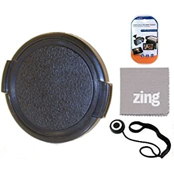 CT Microfiber Cleaning Cloth 67mm Professional Snap On Lens Cap and Cap Keeper for Panasonic Lumix G Vario 100-300mm F//4.0-5.6 OIS Lenses