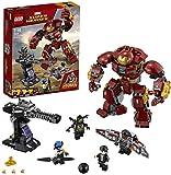 LEGO Super Heroes - Incursión Demoledora del Hulkbuster, Juguete de Construcción de la Armadura de Iron-Man (76104)
