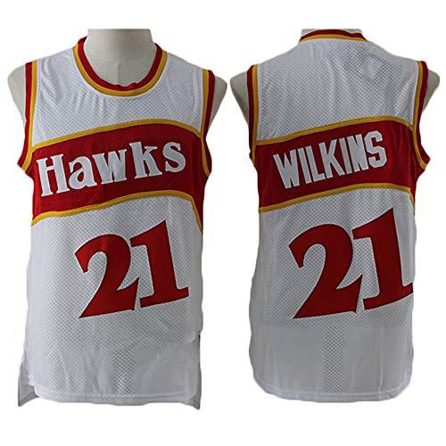 BXWA-Sports Maillot de Basket-Ball pour Homme 170cm//50~65kg /Édition City Atlanta Hawks # 11 Trae Young V/êtements de Basket-Ball Maillots de Maille Brod/ée Swingman Tops de Sport,S