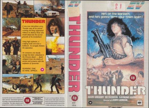Thunder [Warrior] (Video Tape/PAL) 1983
