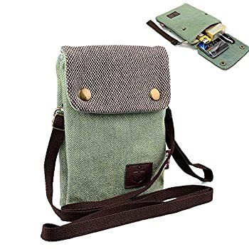 Women Small Cute Crossbody Cell Phone Bag Purse Smartphone Wristlet Wallet for iPhone X 8 7 Plus Galaxy Note10 S10 S9 J8 J7 Moto G7 G6 LG V40 G8 G7 ThinQ Stylo 4/3 Razer Phone 2 Fit with OtterBox Case