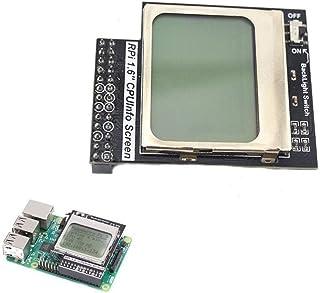 Información práctica CPU de 1.6 Pulgadas LCD de Matriz 84x48 módulo de Memoria con retroiluminación en Forma for el Raspbe...