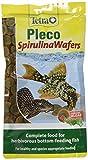 Tetra Pleco Espirulina Obleas para todos los peces herbívoros, 150 g